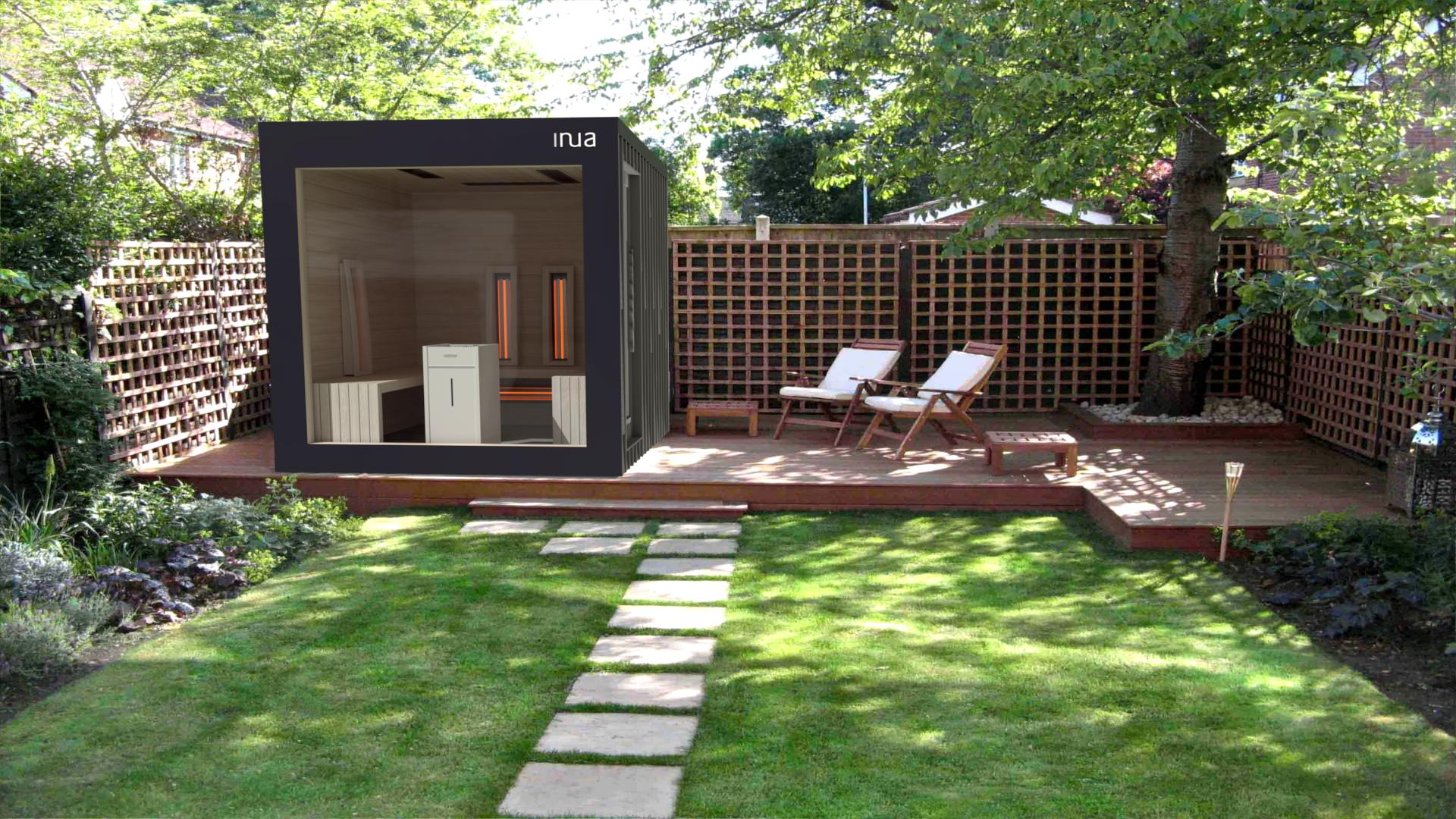 INUA Baldur Vitarium 4 – combined sauna-kombinierte Sauna