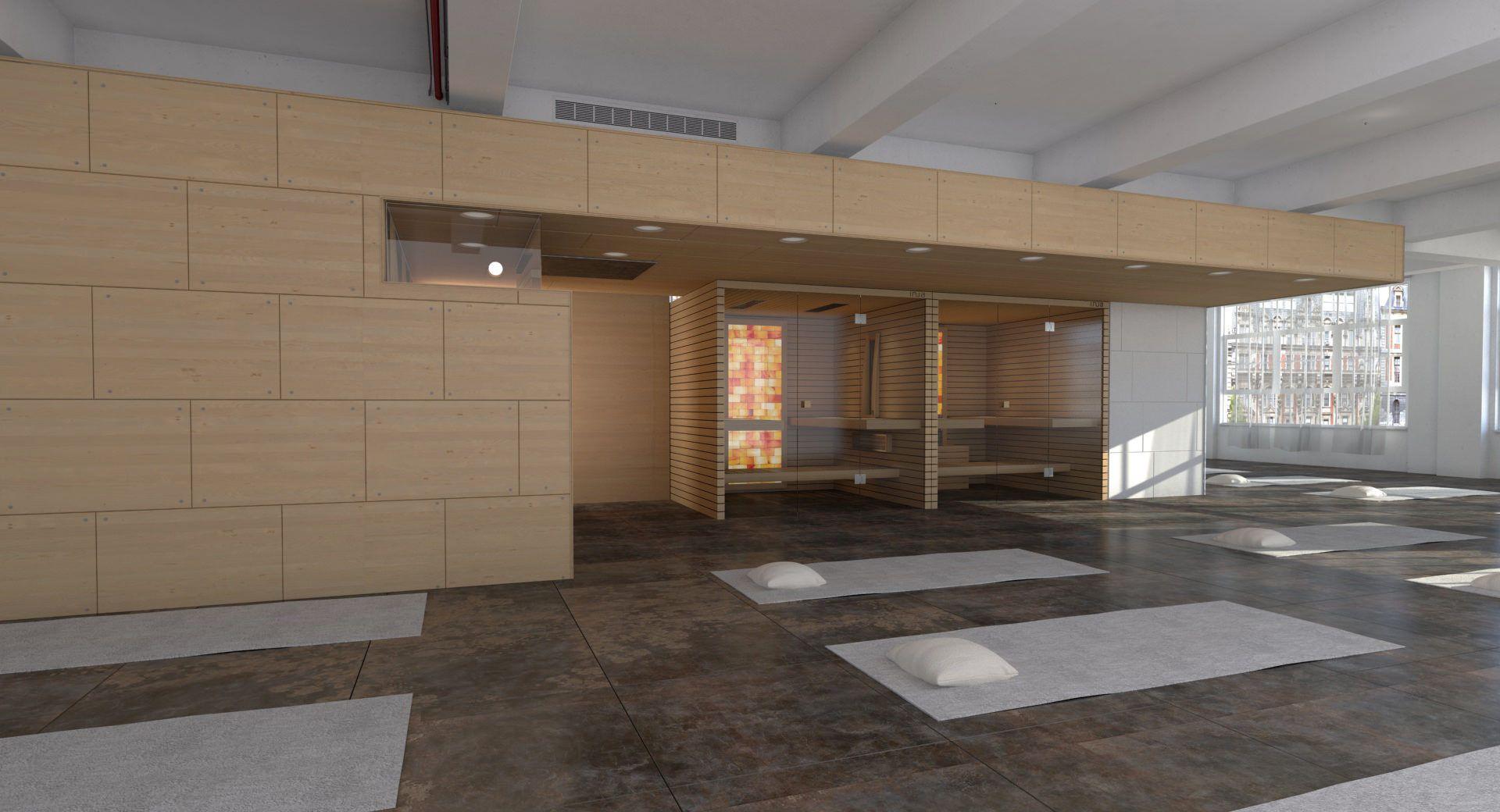 INUA Sól in yoga studio