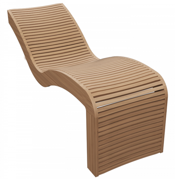 INUA-lounger-H-indbygget